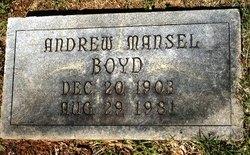 Andrew Mansel Boyd