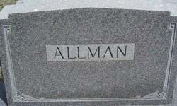 Cora A <i>Landis</i> Allman