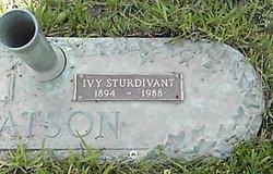 Ivy S. <i>Sturdivant</i> Watson