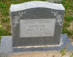 Bertha Eugenia Rowell
