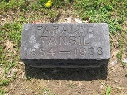 Mary Paralee <i>McBride</i> Tansil