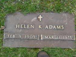 Helen K Adams