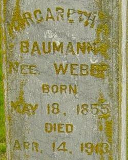 Margaretha <i>Weber</i> Baumann