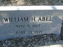 William H Abel, Jr