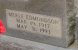 Merle Leila <i>Edmondson</i> Cagle