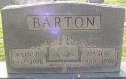 Maggie <i>Fletcher</i> Barton