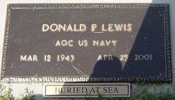 Donald P Lewis