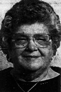 Virginia Ruth Ginny <i>Creger</i> Milosh