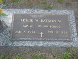 Leslie Wayne Les Batson, Sr