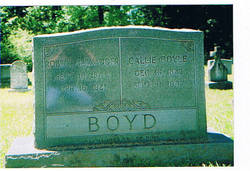 Caroline Zella Callie <i>Doyle</i> Boyd