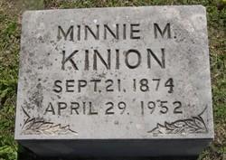 Minnie May <i>Brooner</i> Kinion