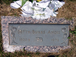 Betty Lucille <i>Burks</i> Andis