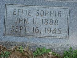 Effie Sophia Crawford