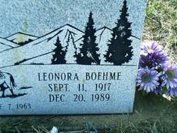 Leonora Karma Boehme