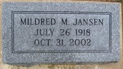 Mildred Mary <i>May</i> Jansen