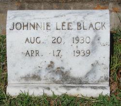 Johnnie Lee Black