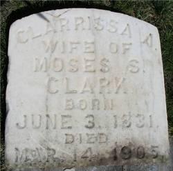 Clarissa Abby <i>Allen</i> Clark