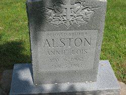 Annie Lois <i>McCauley</i> Alston