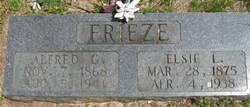 Alfred Grant Frieze