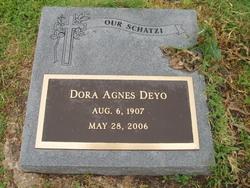 Dora Agnes <i>Schneider</i> Deyo