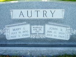 Mary L Autry