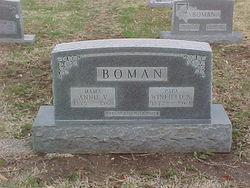 Annie Virginia <i>Bowman</i> Boman