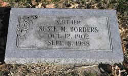 Susie M. <i>Letcher</i> Borders