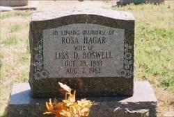 Rosa Ann <i>Hager</i> Boswell