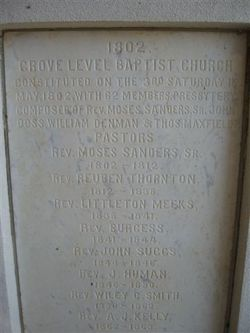 Rev Moses Sanders, Sr