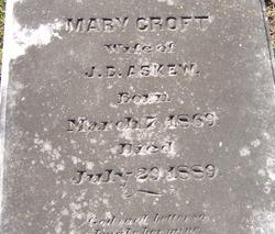 Mary <i>Croft</i> Askew