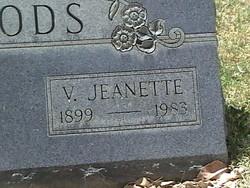 Viola Jeanette <i>Carson</i> Woods