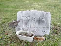 Mabel V Crossley
