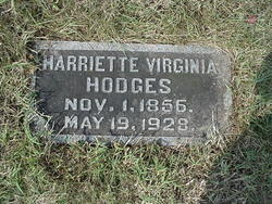 Harriet Virginia <i>Templin</i> Hodges
