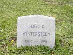 Beryl R Wintersteen