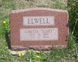 Loretta <i>Scott</i> Elwell