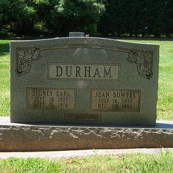 Jean Bowers Durham