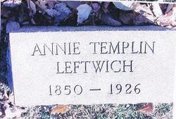 Annie Haynes <i>Templin</i> Leftwich