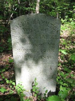 Mary Polly <i>Hamilton</i> Sanders