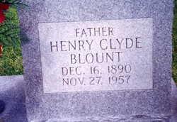 Henry Clyde Blount