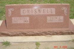 Frances <i>Fox</i> Criswell