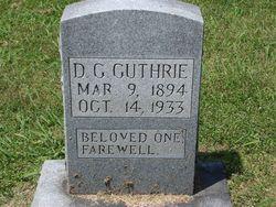 D. G. Joe Dauson Guthrie
