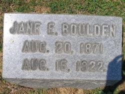 Jane Elizabeth <i>Burns</i> Boulden