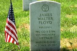 PFC James Walter Floyd