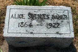Alice Letitia <i>Suttles</i> Baker