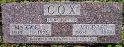 Mildred M. <i>Floria</i> Cox