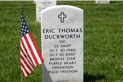 Sgt Eric Thomas Duckworth