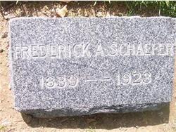 Frederick A Schaefer