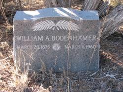 William A Bodenhamer