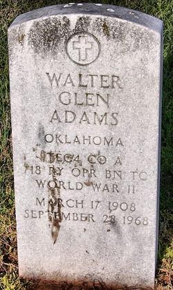 Walter Glen Adams