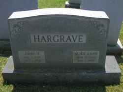 Alice Lane Hargrave